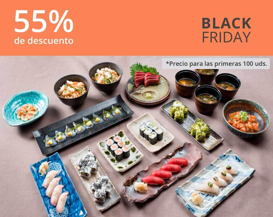 Menú Familiar Black Friday 55% - Kirei