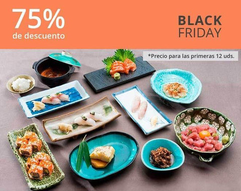 Menú Parejas Black Friday 75% dto.