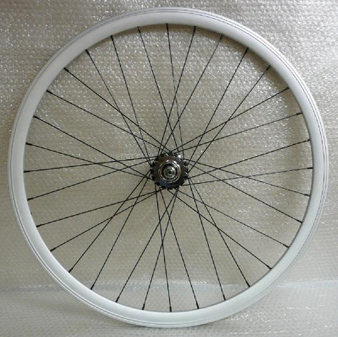 Rim - Rear (silver/black spokes)