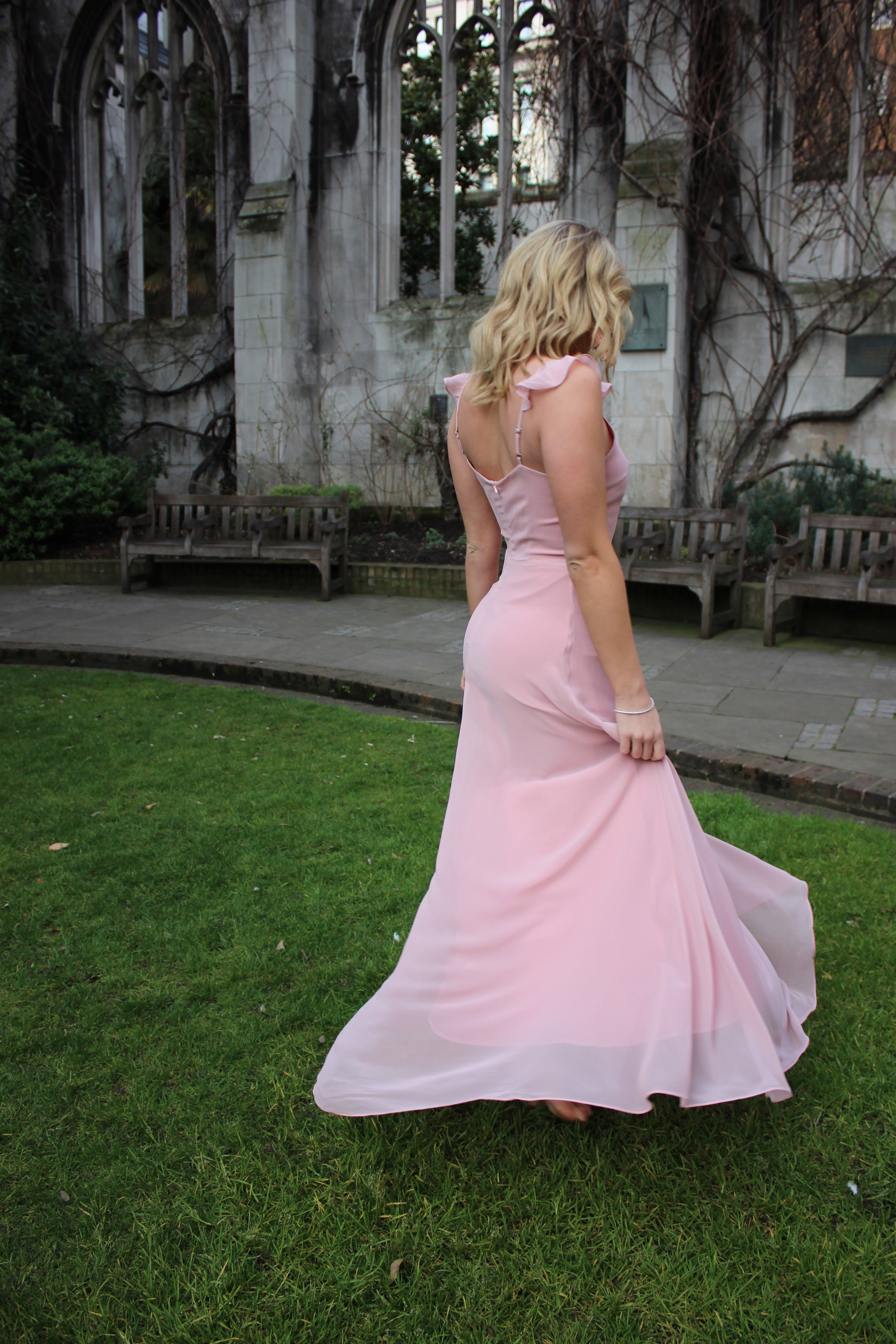 Baby Pink Maxi