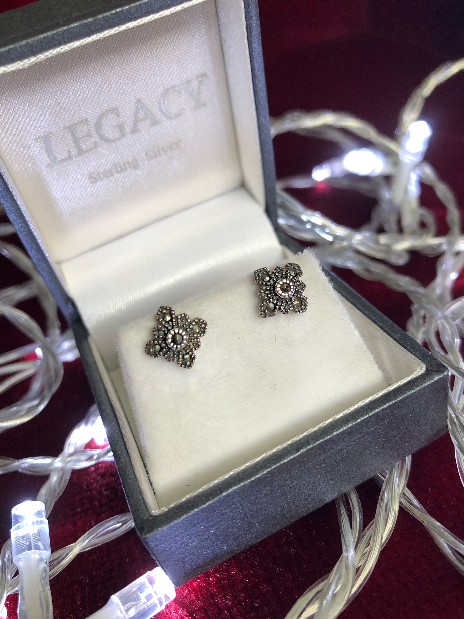 Small Floral Earrings