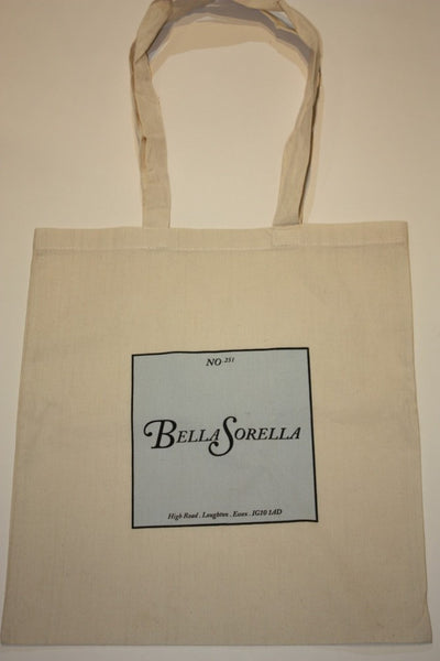 """Bella Sorella"" Signed Canvas Bag"