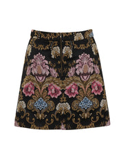 Black Hepburn Skirt