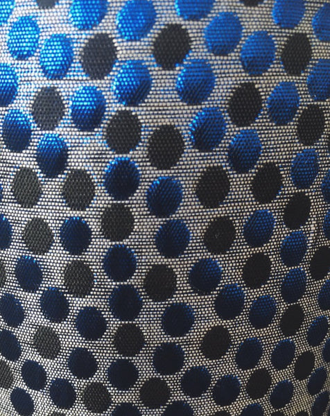 Black & Blue Spot Trousers