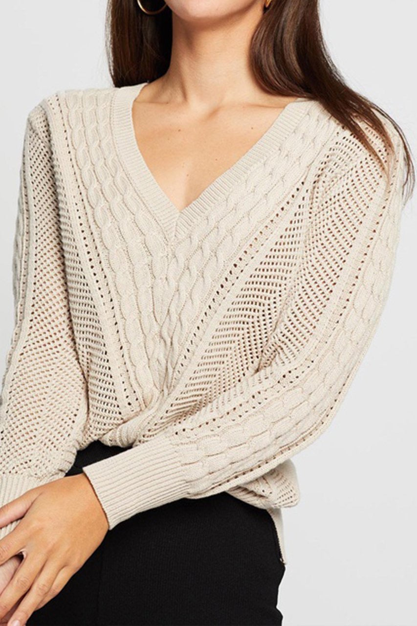 Cosy Cable knit