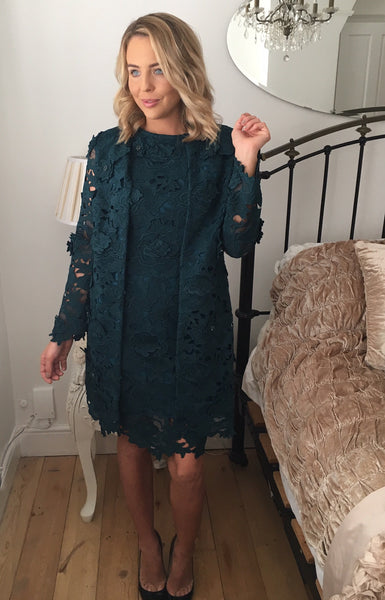 Ailsa Teal Coat