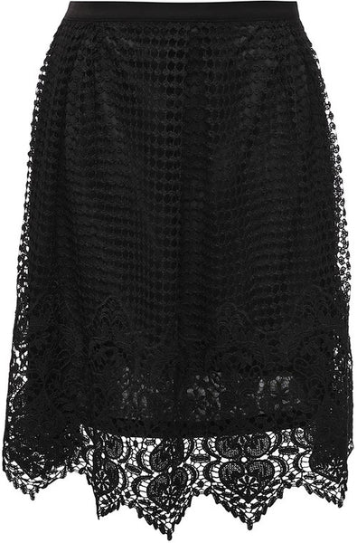 Crochet Lace Skirt