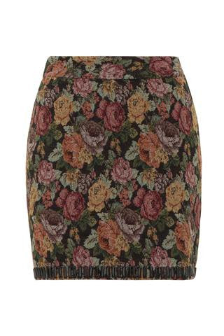 Tapestry Embellished Skirt