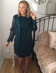Ailsa Teal Dress
