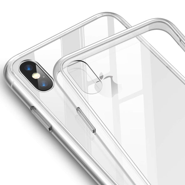 Ultra Thin Crystal Clear Case Cover Dust Plug Protector for Apple iPhone X/ XS / XR/ XS MAX - LL Trader