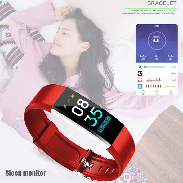 D115 Plus HR Smart Sports Band Heart Rate Bluetooth Fitness Wristband Tracker - LL Trader