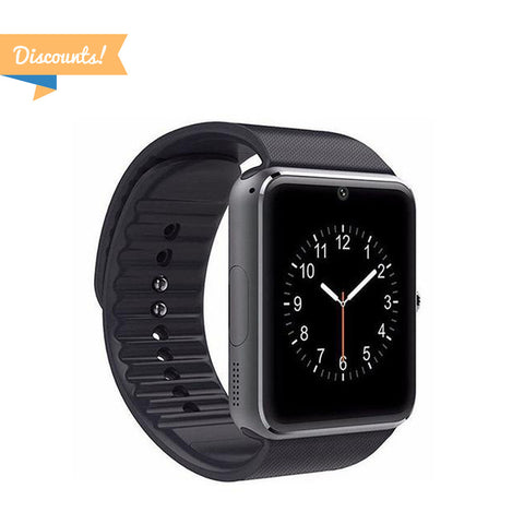 Discount Area - 2pcs - GT08 Bluetooth Smart Watch