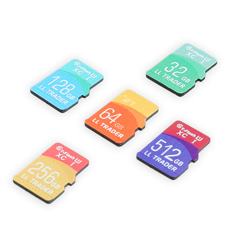 Discount - 5pcs - Micro SD / TF Memory Card Class 10 With Adapter