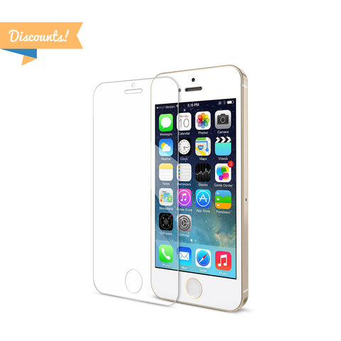 Discount Area - 10pcs - HD Clarity + Extreme Shatter Protection for iPhone