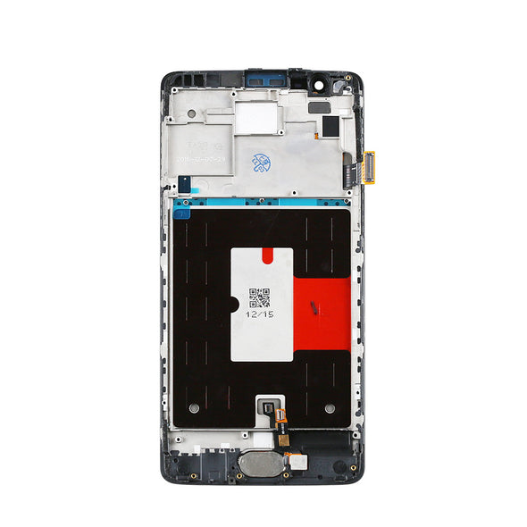 OnePlus Three 1+ 3 Display Assembly with Frame - LL Trader
