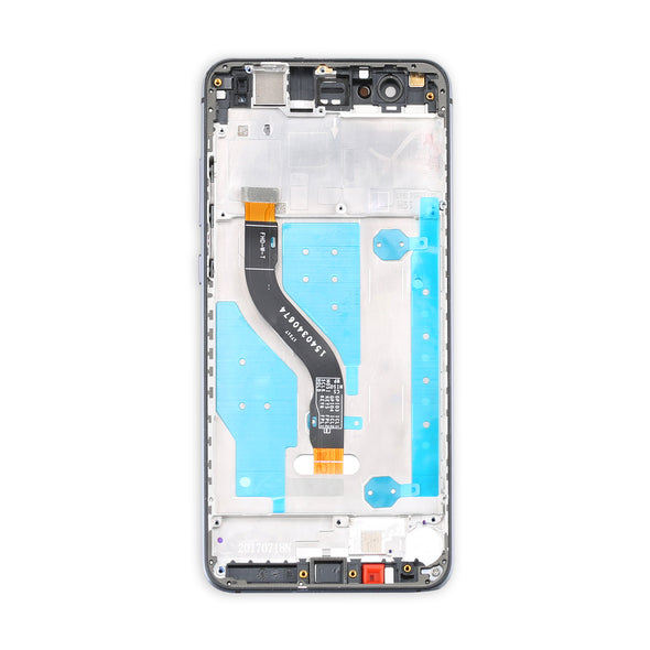 Huawei P10 Lite Display Assembly with Frame - LL Trader