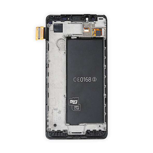 Nokia Lumia 950 Display Assembly with Frame - LL Trader