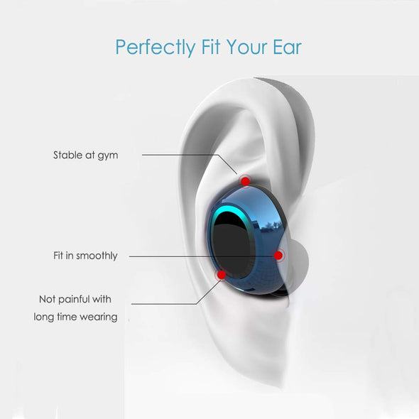 MEES Bluetooth 5.0 Headphones Waterproof IPX4 - LL Trader