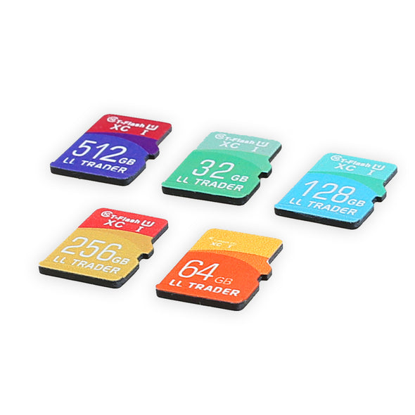 Discount - 5pcs - Micro SD / TF Memory Card Class 10 With Adapter - LL Trader