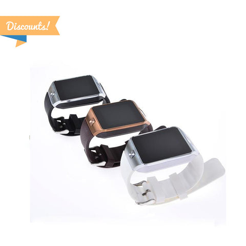 Discount Area - 2pcs - DZ09 Bluetooth Smart Watch