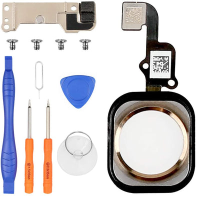 iPhone 6S, iPhone 6S Plus Home Button Replacement with Flex Cable