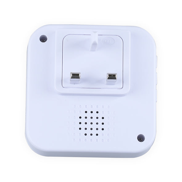 Smart Wireless Doorbell Chime Bell Indoor Receiver WiFi Ring Ding dong UK Plug - LL Trader