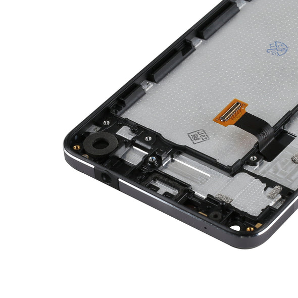 Nokia Lumia 650 Display Assembly with Frame - LL Trader
