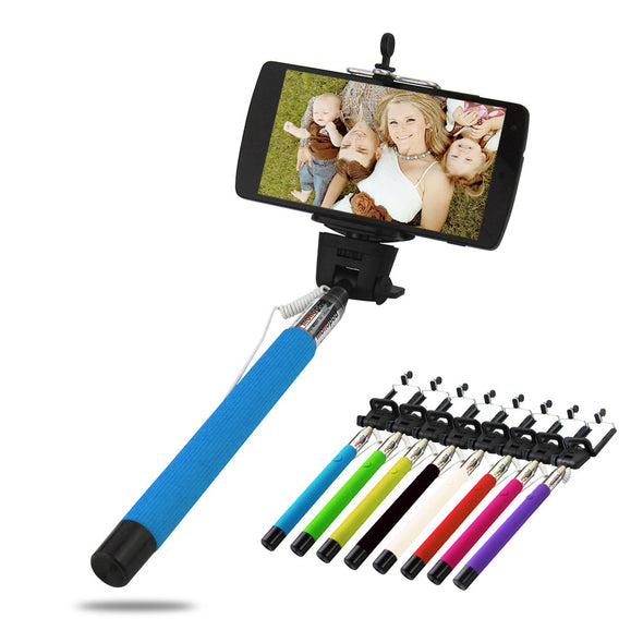 Selfie Stick Extendable Handheld Monopod With 3.5mm Audio Cable - LL Trader