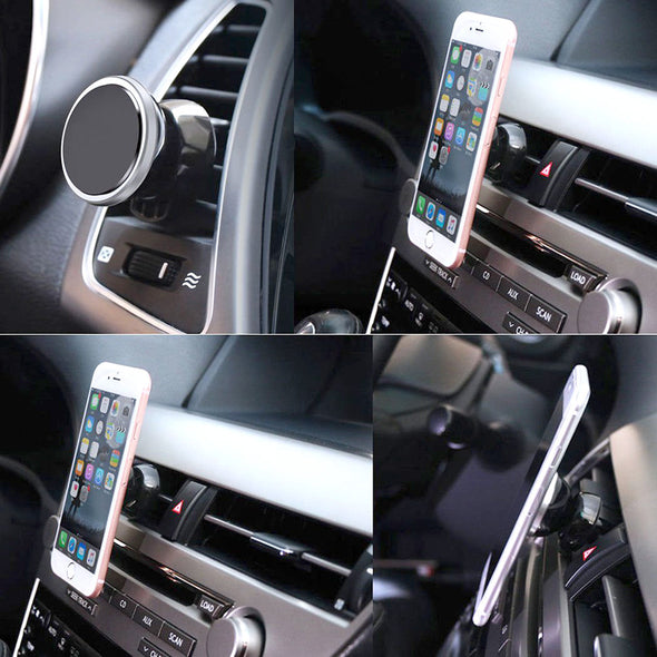Magnetic Air Vent  Mobile Car Holder - LL Trader