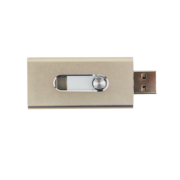 OTG USB 2.0 3in1 plug Flash Drive - LL Trader