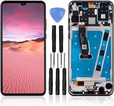 Huawei P30 Lite LCD Touch Screen Digitizer Assembly with Frame