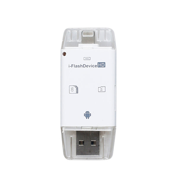 i-Flash USB Drive Micro SD TF Memory Card Reader Adapter - LL Trader