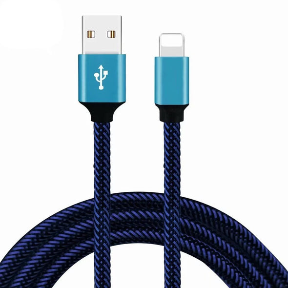 LL TRADER For Apple iPhoneX 8 7 6 iPad Air USB Fast Charging Cable Data Sync 1M 2M - LL Trader