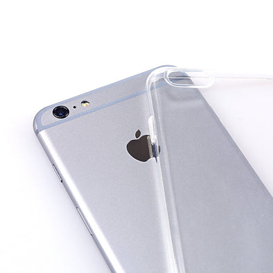 Ultra Thin Crystal Clear Case Cover Dust Plug Protector for Apple iPhone 6 / 6S / 6 Plus / 6S Plus - LL Trader