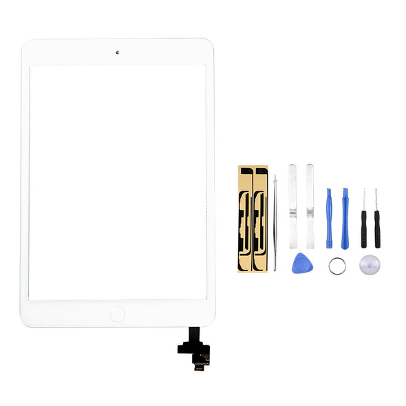 iPad Mini (1st & 2nd Gen) Front Panel Digitizer Assembly with IC - LL Trader