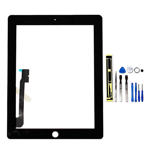 iPad 3/4 Front Panel Digitizer Assembly