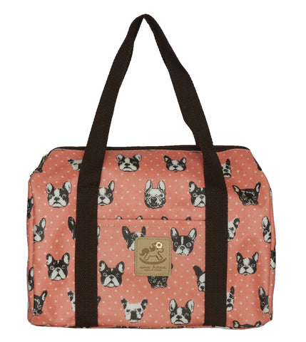 Duffle Bag - French Bulldog - Orange