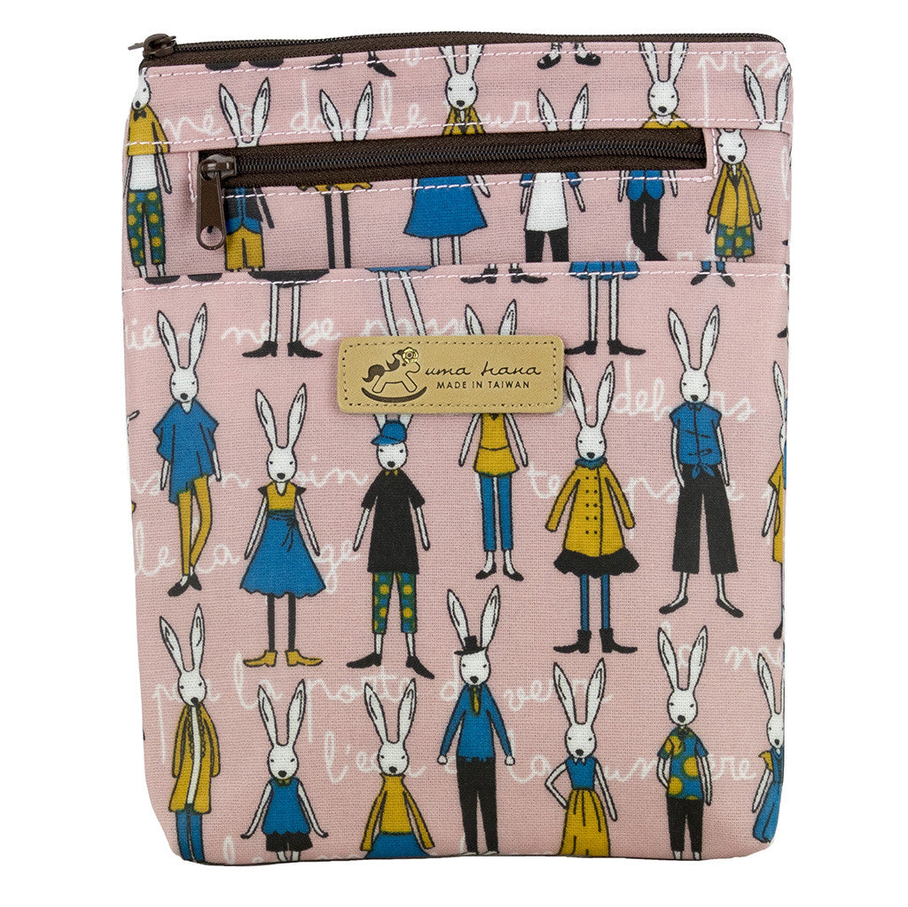 Crossbody/Waist Bag - Rabbit with Friends
