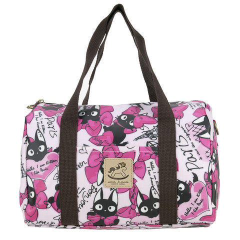 Duffle Bag - Cat with Bowtie - Pink
