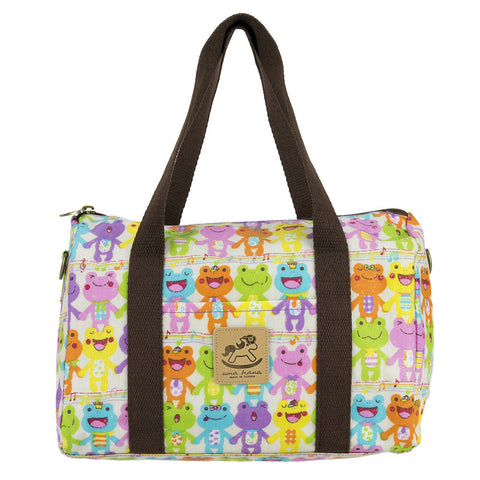 Duffle Bag - Singin Rainbow Frogs