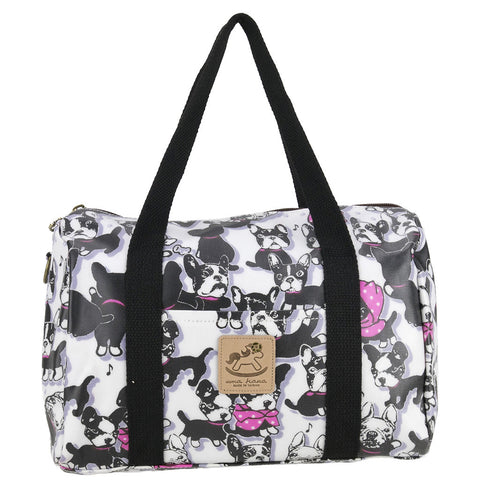 Duffle Bag - Cute Black French Bulldog