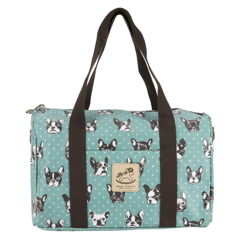 Duffle Bag - French Bulldog - Green