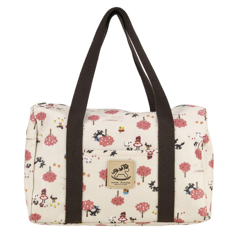 Duffle Bag - Little Red Riding Hood - White