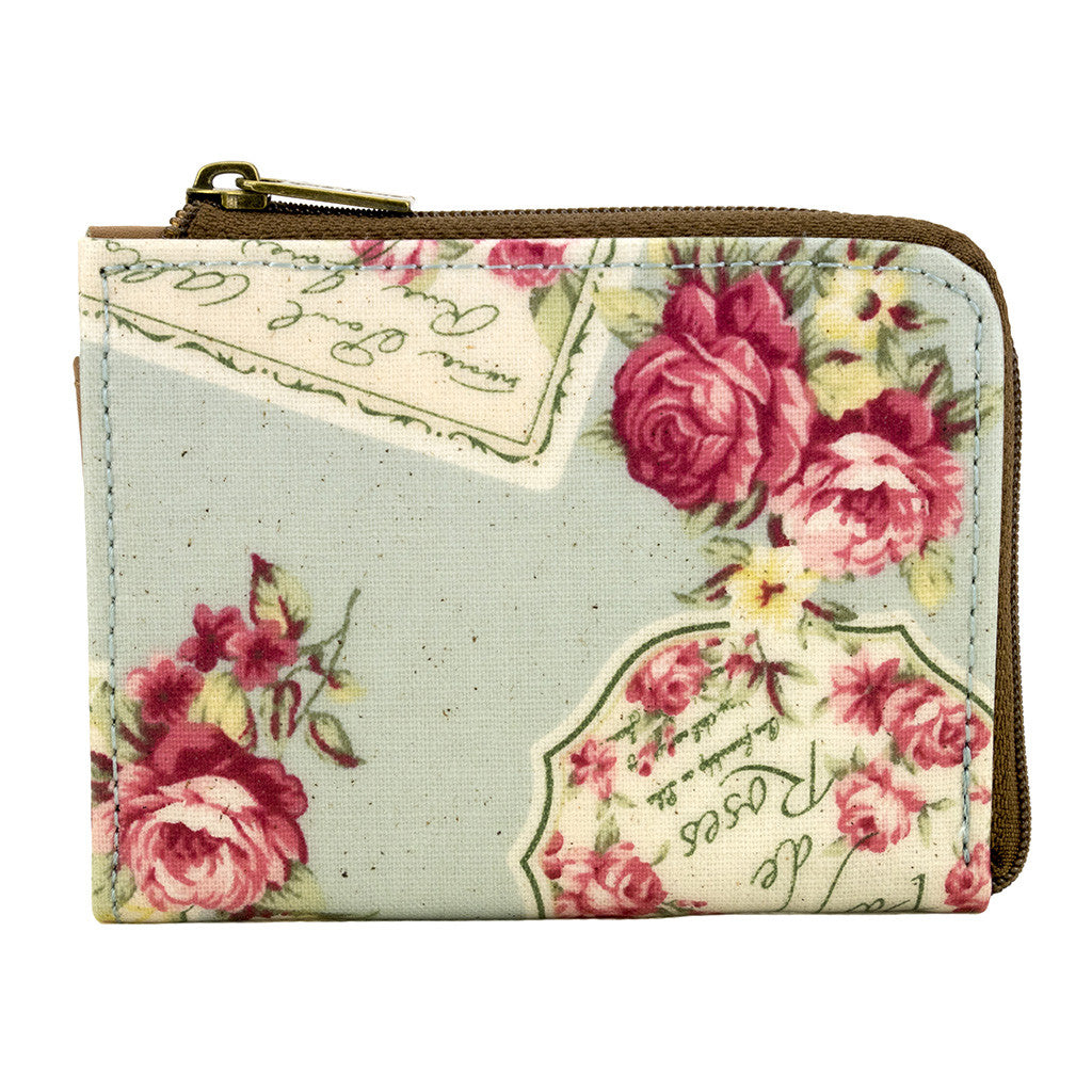 ID & Coin Purse - Queen of Roses