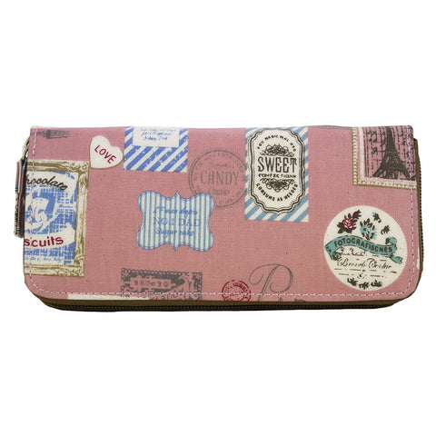 Long Zip-around Wallet - Sweet Like Candy