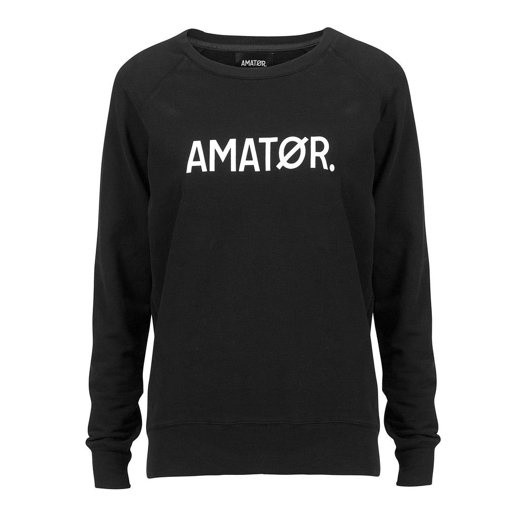 BABY AMATØR // Sweater Black
