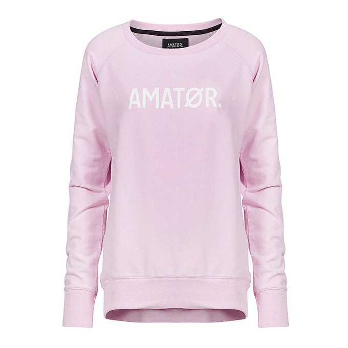 BABY AMATØR // Sweater Light Rose