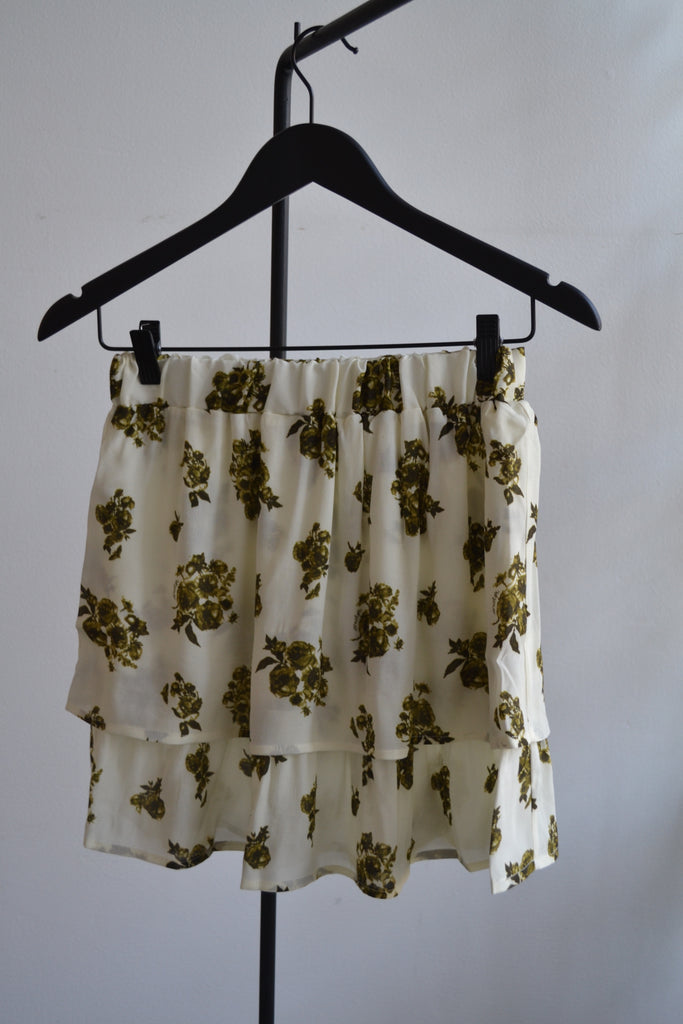 VILLA FLOWER // SKIRT