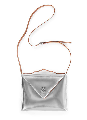 POXY SILVER // Shoulder bag