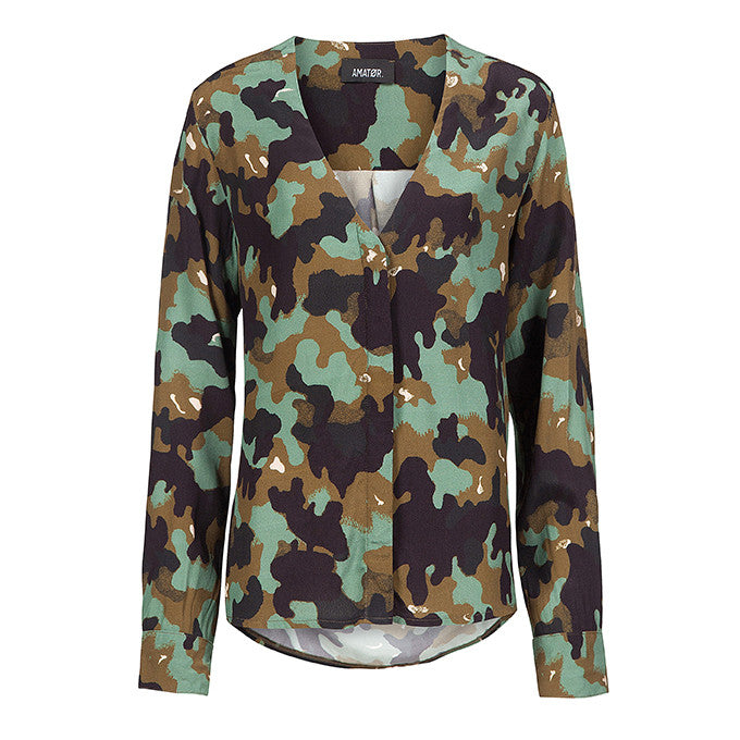 LINA // Blouse Army Green
